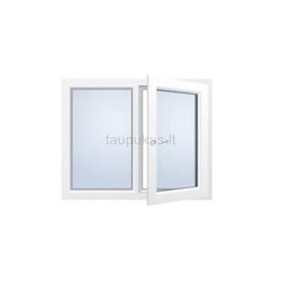 Atidaromas dviejų dalių langas