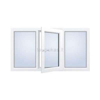 Atidaromas trijų dalių langas