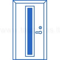 Standartinės lauko durys